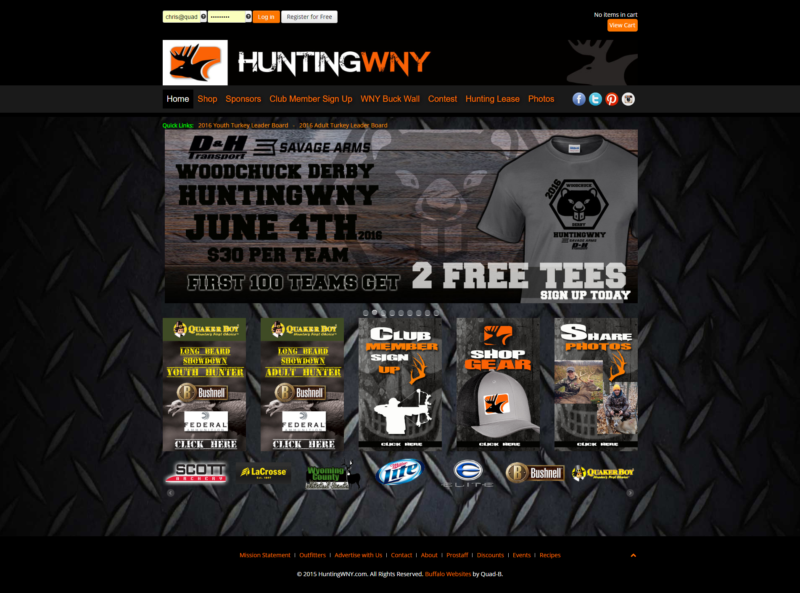 Hunting Enthusiast Website