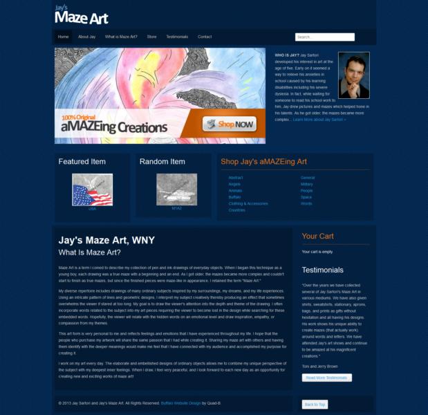 Artist E-Commerce Website & Logo