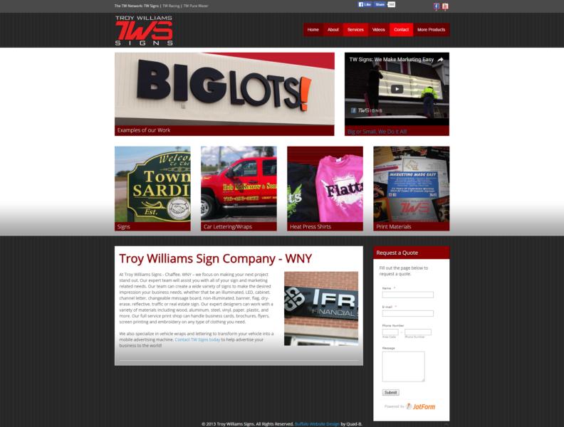 Sign Company Website