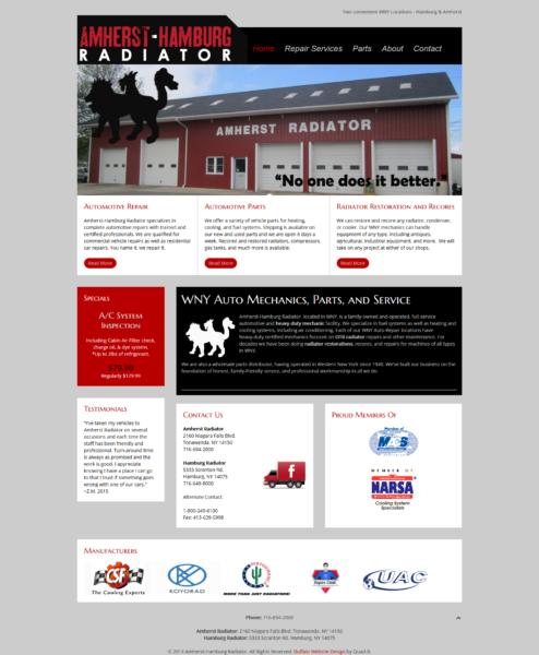 Auto Repair Shop Website + Logo Design
