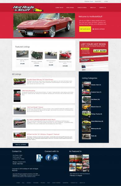 Car Enthusiast Auction Website